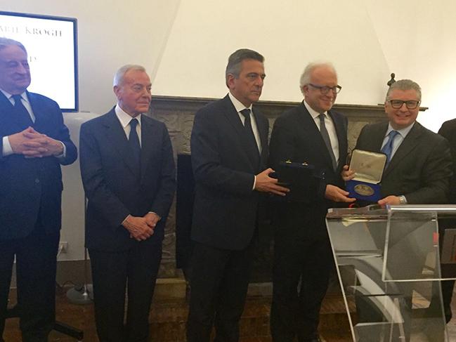 Foto - Award Prof. Sergio Pecorelli